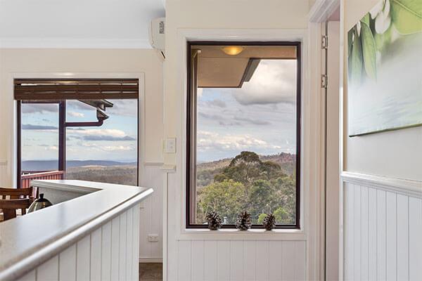 Window | Holiday Mountain Retreat | Queensland | Ravensbourne Escape